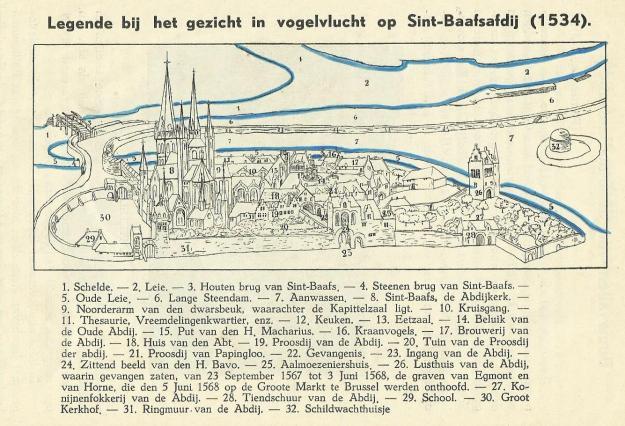 gent St.-Baafsabdij 1534