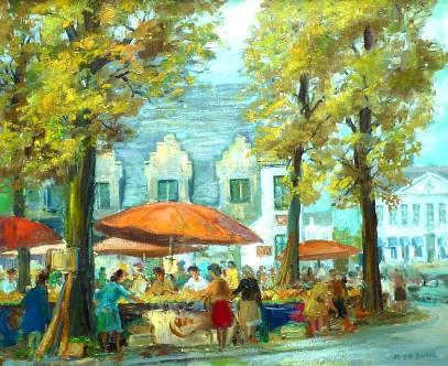 GentgroentenmarktRaphaeldeBuckschilderEricHerrebautFb