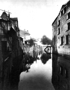 Houtlei Zottepoortbrug - G.T. 1987