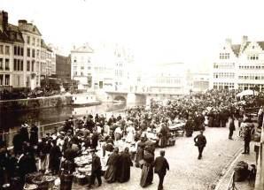 Graslei markt - Roland de Smet - Fb