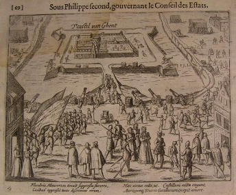 gentoudbelegeringvanGent1616-Colin oorlog tegen Spanje