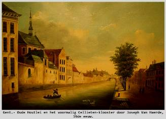 GentOudehoutleischilderijJosephvanHaeerde19eeeuwCellieten-kloosterRogerCaufrierFb