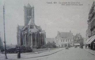 Emiel Braunplein 1920 - postkaart