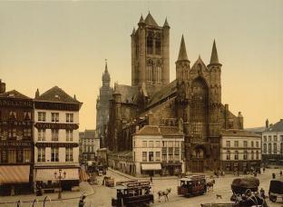 gentoudSt.-Niklaaskerk2 - ca. 1895