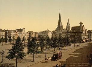 gentoudvrjdagmarkt2 - 1895 postkaart