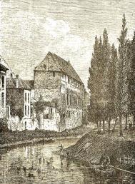 gent-Geeraerd Duivelsteen en de Reep anno 1850