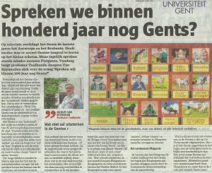 Gent Gentse taal