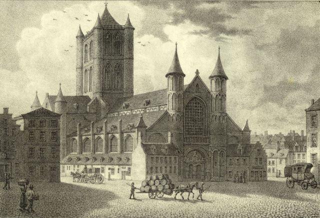 Gent St.-Niklaaskerk 1825