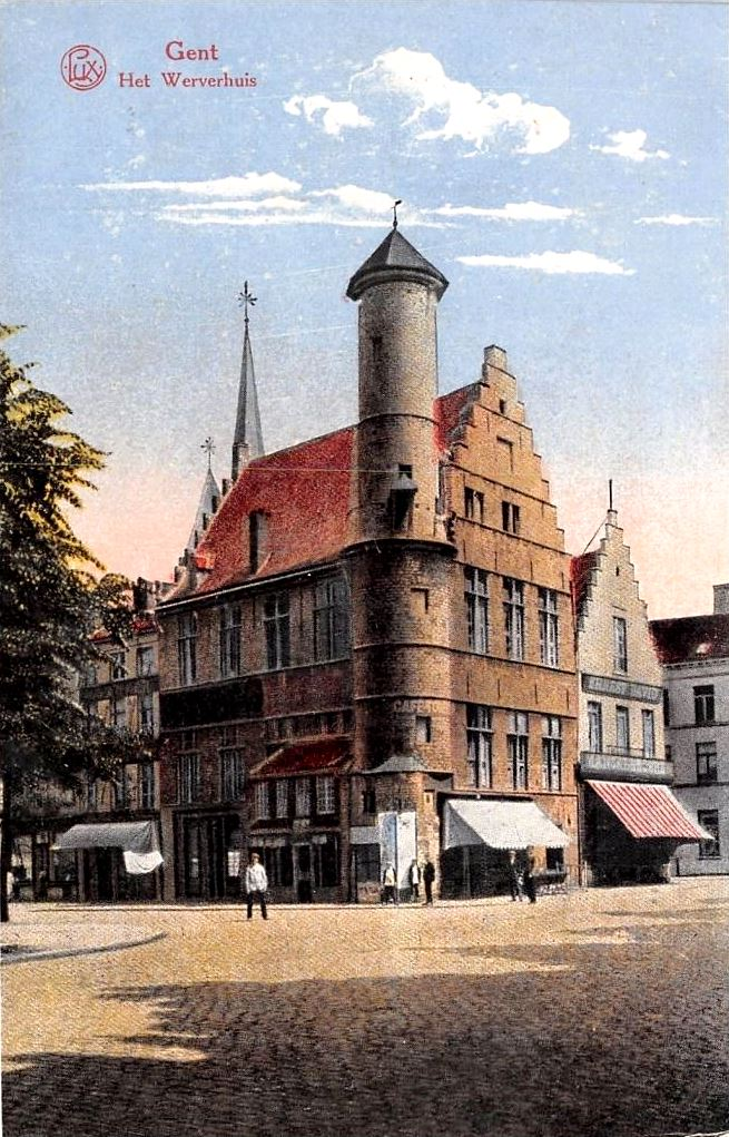 GenthetWeverhuispostkaartca.1914