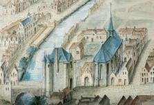 Walpoort en Wolweverskapel - Gents Stadsarchief, AG