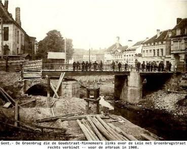 GentMinnemeersbrugOude(Groenbrug)Groenbrugstraat voor 1908RogerCaufrierFb
