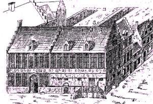 St.-Jorishof - pentekening