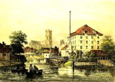 Nederschelde 1830 - Gentse binnenwateren - R. Vannevel