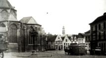 Vlasmarkt voor 1900 - St.-Pietersdorp