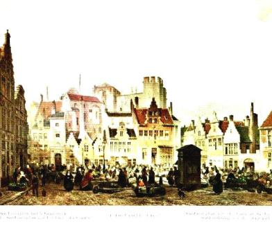 Veerleplein - Gent door de jaren heen - Fb