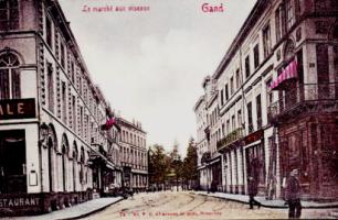 GentVogelmarktpostkaartStpietersdorp20c