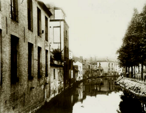 Tichelrei aanvang Lange Steenstraat - Gent St.-Pietersdorp 12b