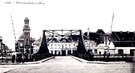 GentMeulestbrug1927aankeerkjeGSTPD27c