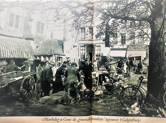 GentGroentenmarkt1932(HendrikDobbelaere)