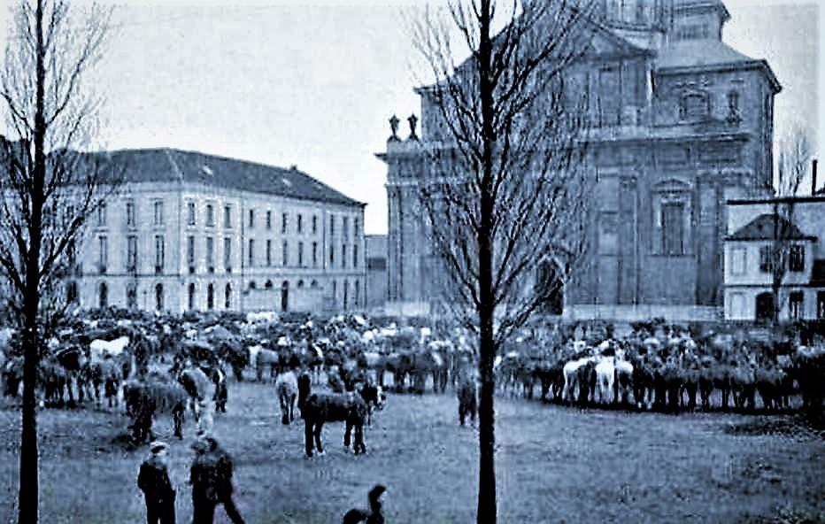 GentBiestenmoarkt1920StPieterslpleinJVerplancken