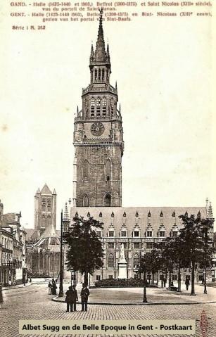 St.-Baafspleinpostkaart